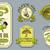 ヴィンテージ · オリーブ · ラベル · セット · 自然食品 - ストックフォト © purplebird