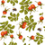 Rose hip seamless pattern stock photo © PurpleBird