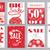 ingesteld · mobiele · verkoop · banners · vector · illustraties - stockfoto © purplebird