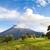tungurahua volcano erupting at sunrise with smoke stock photo © pxhidalgo
