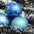 mavi · Noel · kar · tanesi · noel · ağacı · süs - stok fotoğraf © pxhidalgo