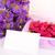 красочный · цветы · шкатулке · деревянный · стол · копия · пространства · природы - Сток-фото © pxhidalgo