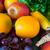 торговых · корзины · фрукты · овощей · белый · фото - Сток-фото © pxhidalgo
