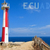 lighthouse with banner of ecuador stock photo © pxhidalgo