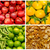 collage · verse · groenten · voedsel · oranje · Rood · groenten - stockfoto © pxhidalgo