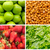 food colage series collage of fresh fruit and vegetables stock photo © pxhidalgo