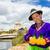 tó · vidéki · díszlet · körül · Peru · dél-amerika - stock fotó © pxhidalgo