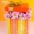 красочный · цветы · шкатулке · деревянный · стол · копия · пространства · древесины - Сток-фото © pxhidalgo