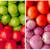 vruchten · mand · markt · kleurrijk · ondiep - stockfoto © pxhidalgo