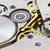 ancient tiny metal clockwork close up stock photo © pzaxe