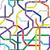 abstract seamless pattern   metro scheme stock photo © pzaxe