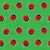 seamless background   ladybugs on green stock photo © pzaxe