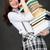 Schoolgirl bearing pile of books stock photo © pzaxe