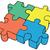 vecteur · vert · blanche · pièces · de · puzzle · résumé · lieu - photo stock © pzaxe