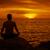 man · mediteren · mooie · strand · zand · denken - stockfoto © pzaxe