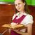 lectura · libro · de · cocina · cocina · mirando · receta - foto stock © pzaxe