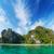 marine tropical landscape with limestone cliffs thailand stock photo © pzaxe