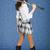 güzel · kız · Japon · kılıç · etek · mavi · kadın - stok fotoğraf © pzaxe