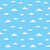 青空 · 雲 · パターン · シームレス · ベクトル - ストックフォト © pzaxe