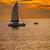 pôr · do · sol · mar · imagem · espetacular · marinha · península - foto stock © pzaxe