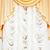 beyaz · perde · arka · plan · düğün · doku · mavi - stok fotoğraf © pzaxe