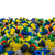 Color toy plastic bolts and nuts stock photo © pzaxe