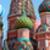 святой · собора · Москва · Россия · Blue · Sky · Церкви - Сток-фото © pzaxe