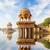 saray · göl · Hindistan · manzara · doğa · taş - stok fotoğraf © pzaxe