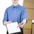 homme · comprimé · carton · cases · papier - photo stock © pzaxe