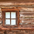 small window in the old wooden wall stock photo © pzaxe