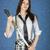 Японский · меч · рук · портрет · женщину - Сток-фото © pzaxe