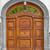 antieke · groene · houten · deur · deurbel · hout - stockfoto © pzaxe