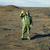 dziwne · naukowiec · gazu · maski · pustyni · niebo - zdjęcia stock © pzaxe