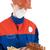 рабочий · шахматам · шлема · человека · синий · красный - Сток-фото © pzaxe