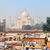 Taj · Mahal · Inde · indian · symbole · célèbre · touristiques - photo stock © pzaxe