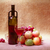 red wine and fruit   still life stock photo © pzaxe