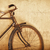 old fashioned rusty bicycle near the wall stock photo © pzaxe