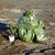 człowiek · chemicznych · garnitur · pustyni · tle · zielone - zdjęcia stock © pzaxe