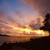 beautiful tranquil sun rise on the coastline stock photo © pzaxe