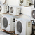 many older air conditioners on the wall stock photo © pzaxe