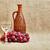 şişe · üzüm · cam · tuval · kil · meyve - stok fotoğraf © pzaxe