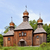 wooden christian orthodox church stock photo © pzaxe