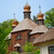 old wooden church ukraine pirogovo stock photo © pzaxe