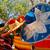 kleurrijk · Mexicaanse · omhoog · buitenshuis · Blauw · reizen - stockfoto © Quasarphoto