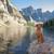 morena · lago · Canadá · parque · água · paisagem - foto stock © quasarphoto