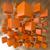 abstrato · 3D · laranja · blocos · negócio · edifício - foto stock © Quka