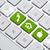 öko · billentyűzet · zöld · újrahasznosítás · internet · munka - stock fotó © ra2studio