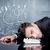 uomo · d'affari · frustrato · pensieri · depresso · imprenditore · riposo - foto d'archivio © ra2studio