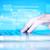 手 · 触れる · ビジネス · 成功 · キーパッド · 白 - ストックフォト © ra2studio