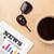 nouvelles · écran · tasse · café · bureau - photo stock © ra2studio